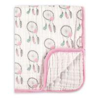Hudson Baby® Dream Catcher Tranquility Muslin Blanket in Pink
