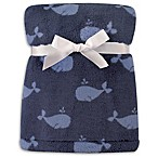 Hudson Baby® Blue Whales Super Plush Blanket
