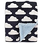 Hudson Baby® Cloud Sherpa-Lined Blanket in Blue