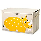 3 Sprouts Rhino Toy Chest in Yellow