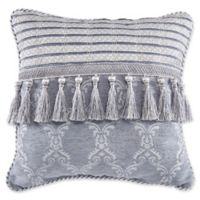 Croscill® Seren Tassel Throw Pillow in Blue