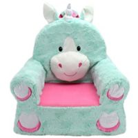 Sweet Seats™ Unicorn Soft Chair in Teal