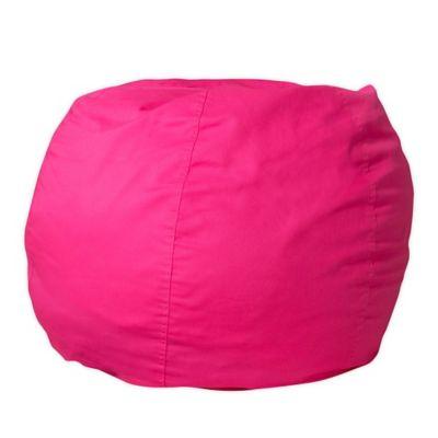 Etonnant Flash Furniture Kids Small Bean Bag Chair In Hot Pink