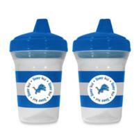 Baby Fanatic® NFL Detroit Lions 5 oz. Sippy Cups (Set of 2)
