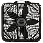 Lasko® 20-Inch Power Plus Fan Box in Black