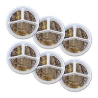 Real Tree Melamine Portion Plates in Camouflage (Set of 6)