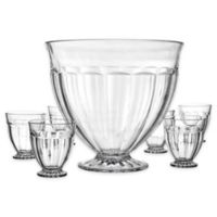 Home Essentials & Beyond Maison 7-Piece Punch Bowl Set