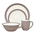 Noritake® Colorwave Curve 4-Piece Place Setting in Clay