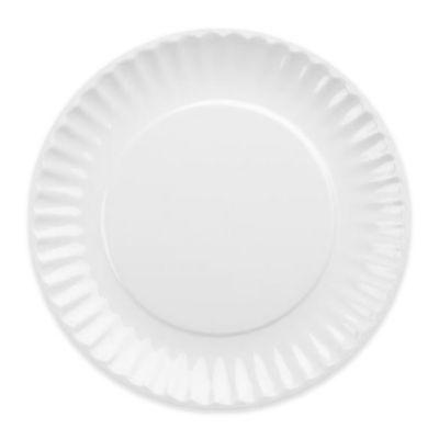 DII Melamine Picnic Plates in White (Set of 12)  sc 1 st  Bed Bath u0026 Beyond & Buy White Melamine Plate from Bed Bath u0026 Beyond
