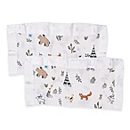 Little Unicorn First Friends 2-Pack Security Blankets in White/Brown