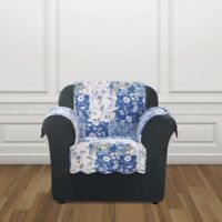 Sure Fit® Heirloom Chair Cover in Bluebell