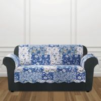Sure Fit® Heirloom Loveseat Cover in Bluebell