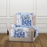 Sure Fit® Heirloom Recliner Cover in Bluebell