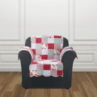 Sure Fit® Heirloom Chair Cover in Red