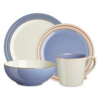 Denby Heritage Fountain 4-Piece Place Setting in Blue