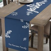 Personalized Cozy Home Table Runner