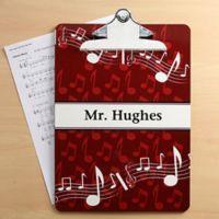 Music Teacher Clipboard
