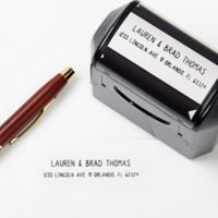 Simply In Love Self-Inking Address Stamp