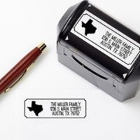 Home State Self-Inking Stamper