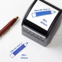 Teacher Fun Self-Inking Address Stamp