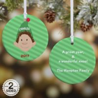 Christmas Character 2-Sided Glossy Christmas Ornament