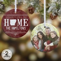 State Of Love 2-Sided Glossy Photo Christmas Ornament
