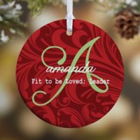 Name Meaning 1-Sided Glossy Christmas Ornament