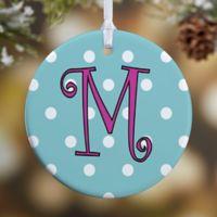 Dot To Dot 1-Sided Glossy Christmas Ornament
