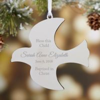 Holy Dove Christmas Ornament Keepsake