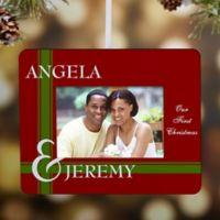 To Love You Mini Photo Frame Christmas Ornament