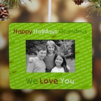 My Little Ones Mini Picture Frame Christmas Ornament