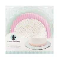 Sweet Tooth Fairy Pastel Cake Plates (Set of 3)