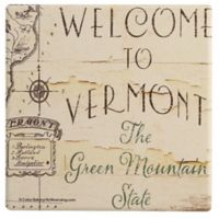 Thirstystone® Dolomite Vermont: The Green Mountain State Single Coaster