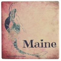 Thirstystone® Dolomite Maine Mermaid Single Coaster