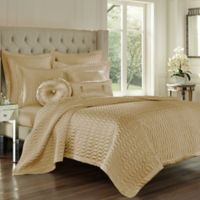 J. Queen New York® Satinique King Coverlet in Gold