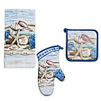 Stories of the Sea Kitchen Linens