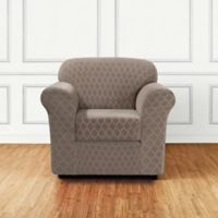 Sure Fit® Marrakesh 2-Piece Chair Slipcover in Desert Sand