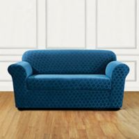Sure Fit® Marrakesh Loveseat Slipcover in Nile Blue