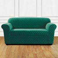 Sure Fit® Marrakesh Loveseat Slipcover in Emerald