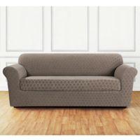 Sure Fit® Marrakesh Sofa Slipcover in Desert Sand