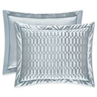 J. Queen New York® Satinique Quilted Standard Pillow Sham in Spa