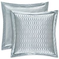 J. Queen New York® Satinique Quilted European Pillow Sham in Spa