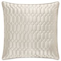 J. Queen New York® Satinique Square Throw Pillow in Natural