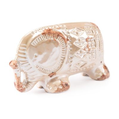 Zuo® Large Antique Elephant Statue In Pearl