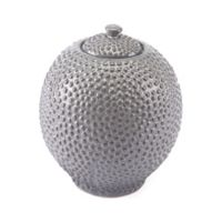 Zuo® Small Round Jar in Grey