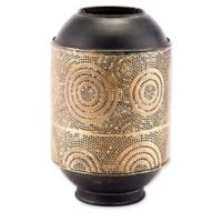 Zuo® Small Espiral Candle Holder in Antique Gold