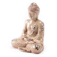 Zuo® Sitting Buddha Statue in Distressed Taupe