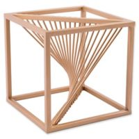 Zuo® Twisted Cube in Antique Brass