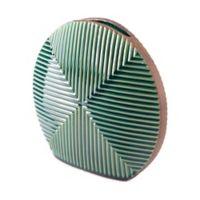 Zuo® Round Disc Vase in Green