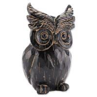 Zuo® Owl Sculpture in Black